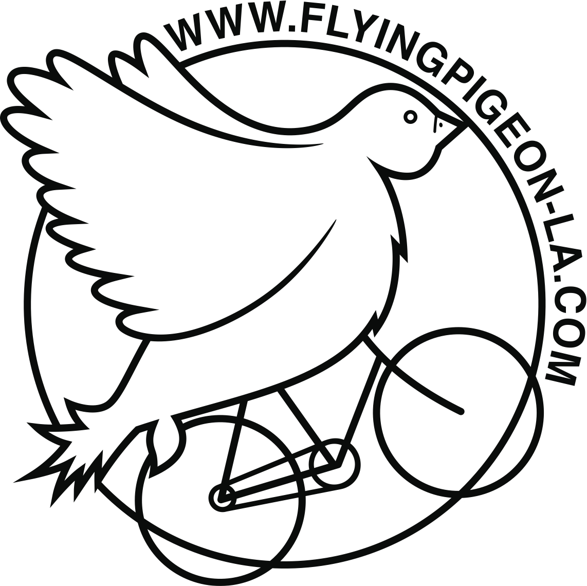 Flying Pigeon LA logo