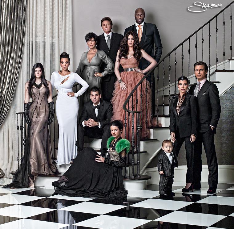 Kardashian FamilyKardashian Family 2012