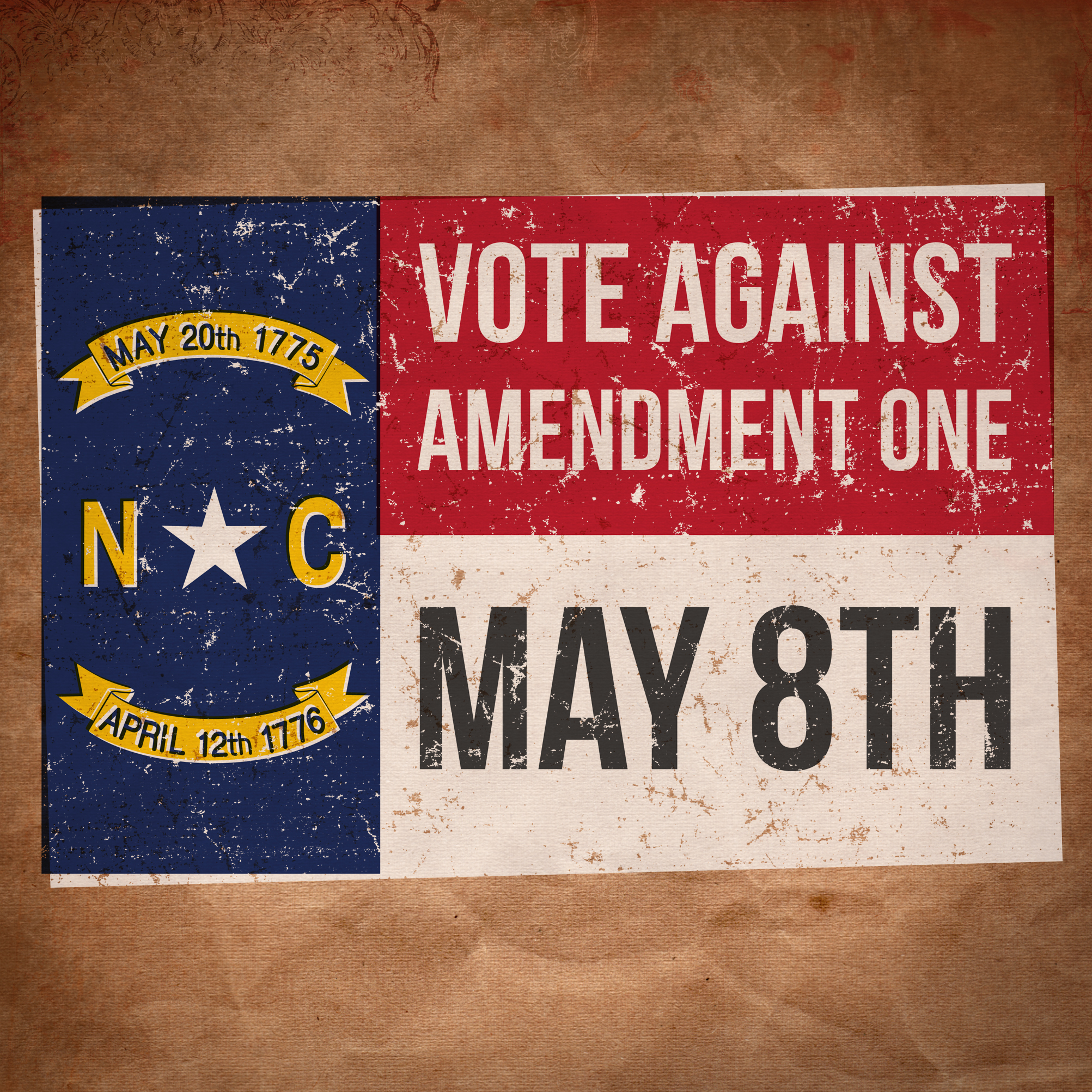 Please Vote AGAINST Amendment One On May 8th, 2012