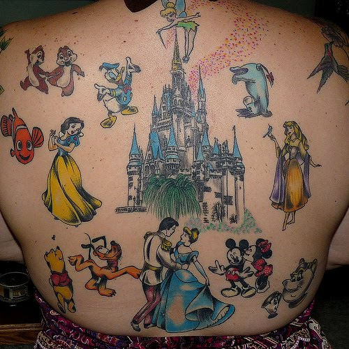 full-back-disney-tattoo