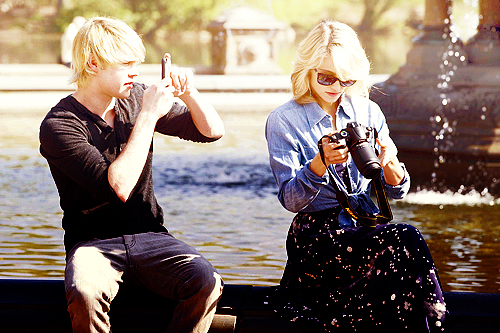 dianna agron and chord overstreet tumblr