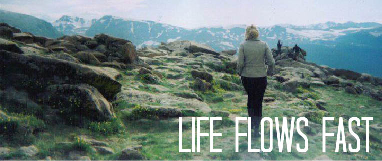 LIFE FLOWS FAST