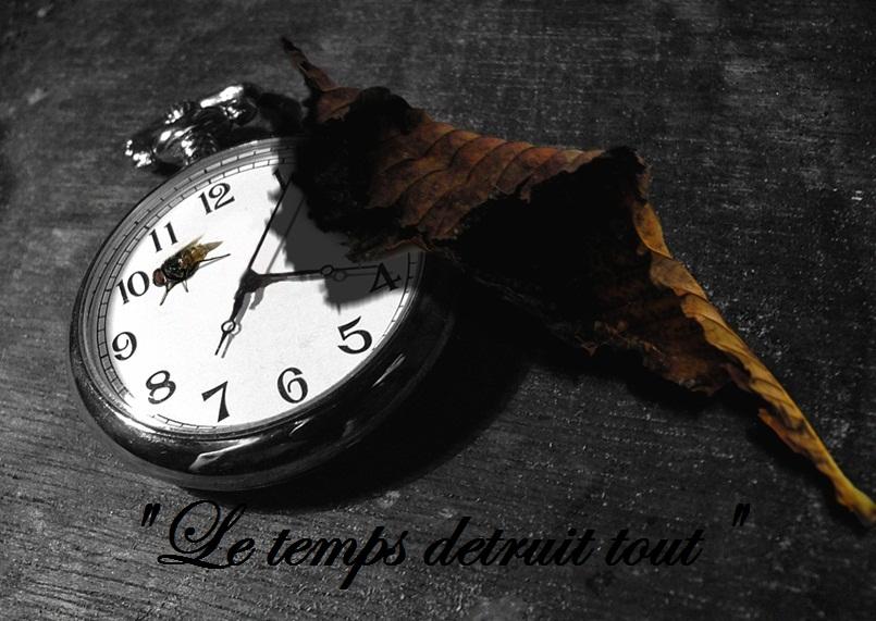 Le temps detruit tout