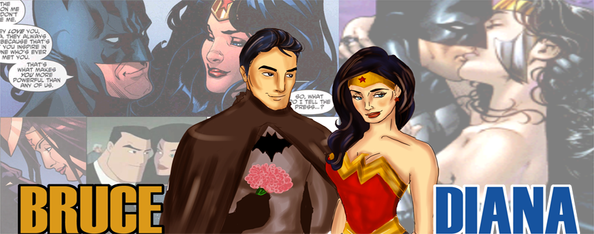 Batman.Wonder Woman.Love