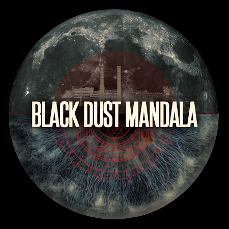 Black Dust Mandala Tumblr Logo
