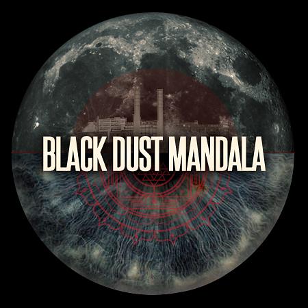 Black Dust Mandala Tumblr Logo