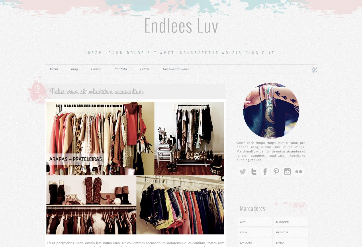 Famosos Claramente Insana: Os melhores layouts free para blogger SI88