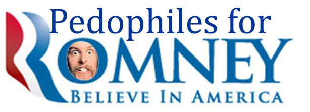 Pedophiles for Romney