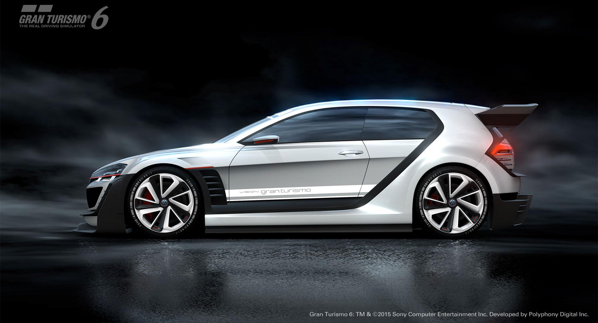 Volkswagen Visiongti Erlebe Ihn In Gran Turismo
