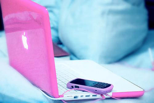 notebook rosa tumblr