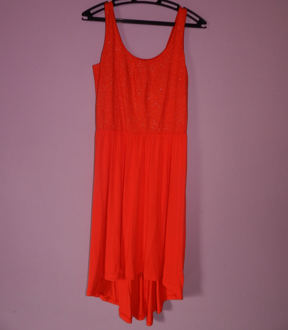 vestido mullet laranja