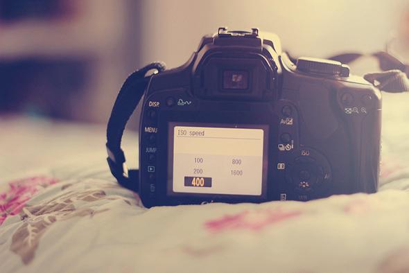 câmera configurações foto
