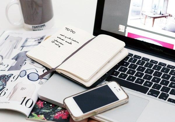 agenda e notebook