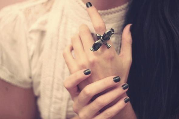 unhas curtas nail art