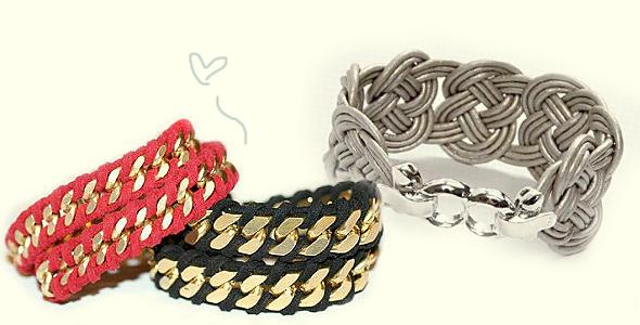 diy pulseiras