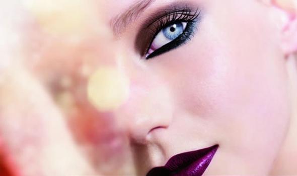 batom roxo inspirações de maquiagem