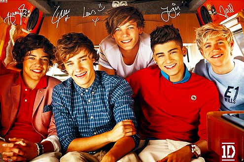 This blog is dedicated to five of the weirdest, most perfect boys ever ...
