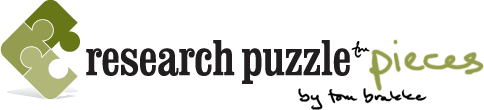 research puzzle pieces