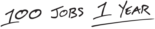 100 Jobs 1 Year