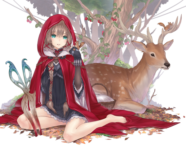 red riding hood anime