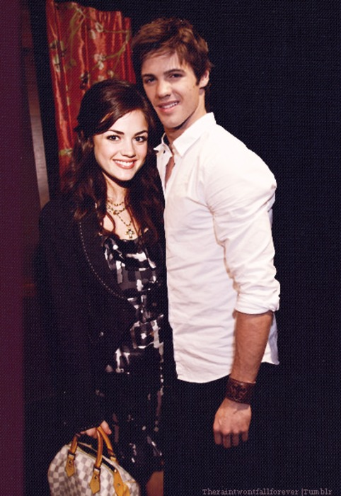 Steven R McQueen and lucy hale