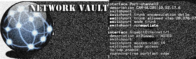 NetWork Vault