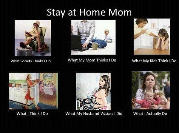 Stay at home mom sex