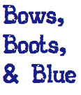 Bows, Boots, & Blue on Tumblr