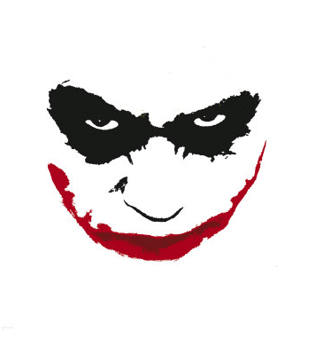 Why so serious Joker Smile Png
