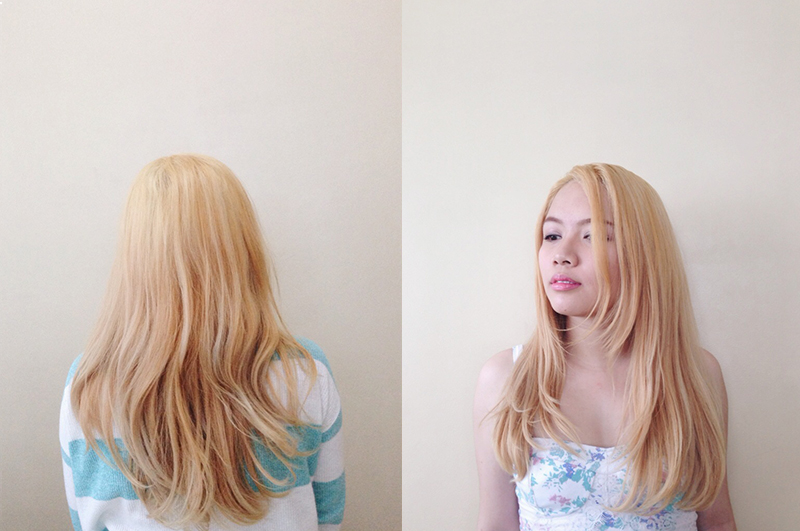 Hair Care Diaries: Blonde Essentials | Kisty Mea