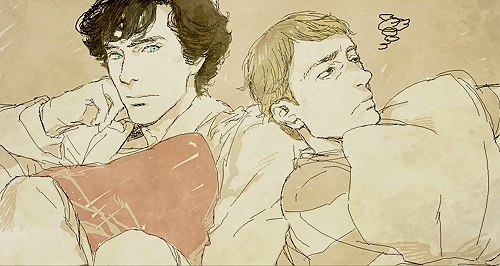 Art World & A lot of Sherlock