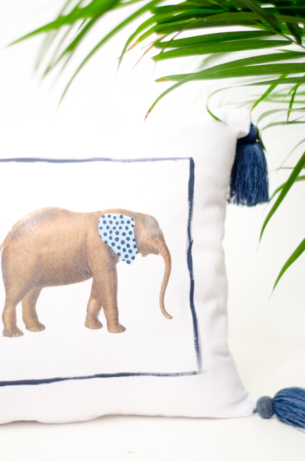 #DIY whimsical painted animal pillows from Thou Swell http://thouswell.co/