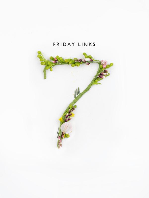 Friday Links 07 / Thou Swell