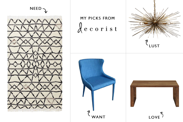 My picks from Decorist / Thou Swell