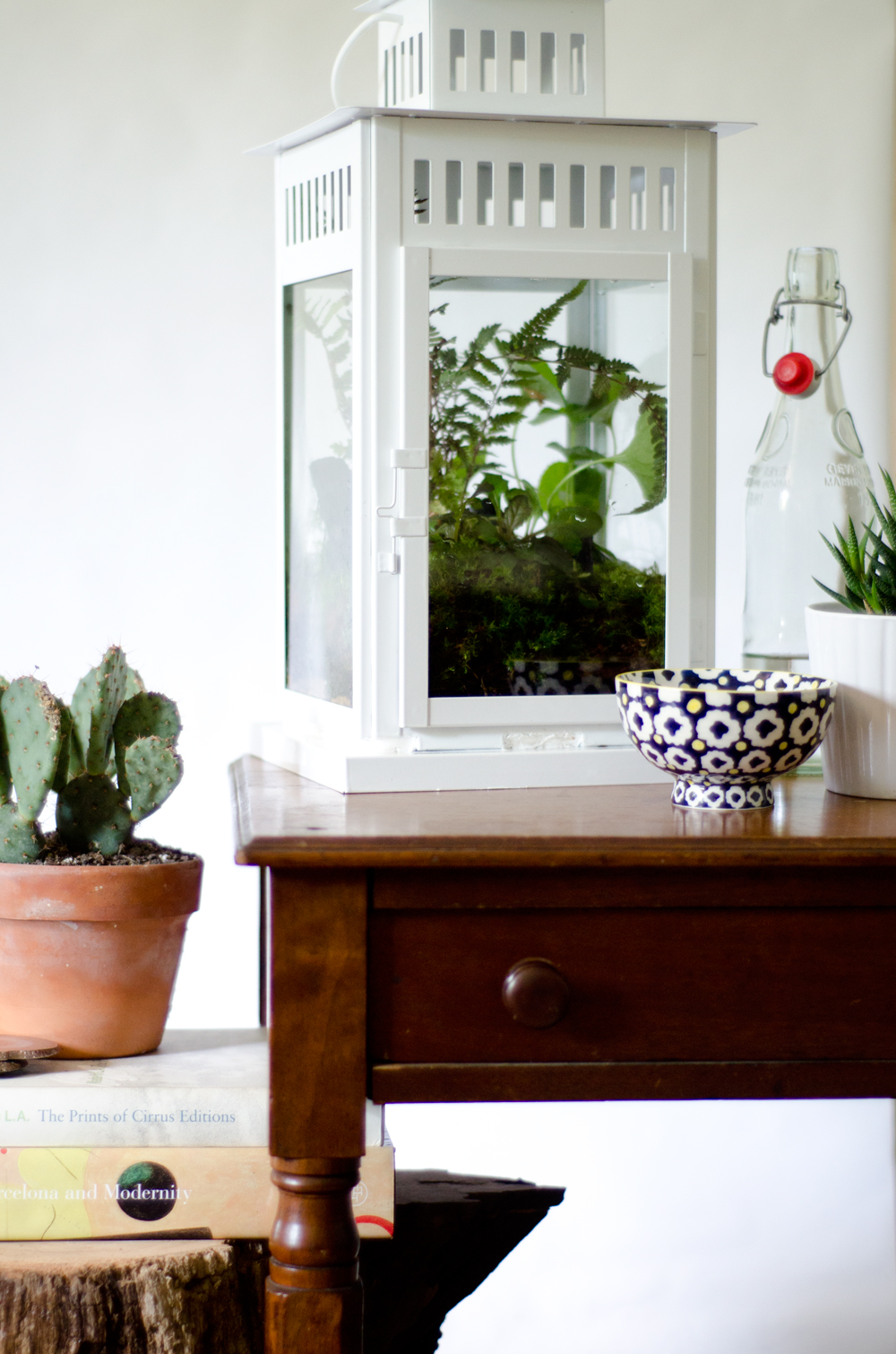 Ikea Hack: #DIY Lantern Terrarium on Thou Swell https://thouswell.com/