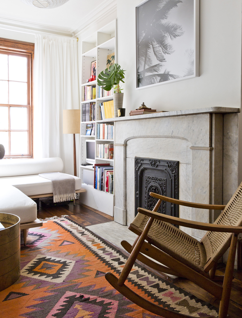 An eclectic mix of decor in Robert McKinley's Chelsea, New York on Thou Swell @thouswellblog