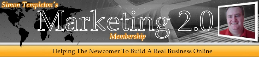 Simon Templeton's Marketing 2.0 Membership