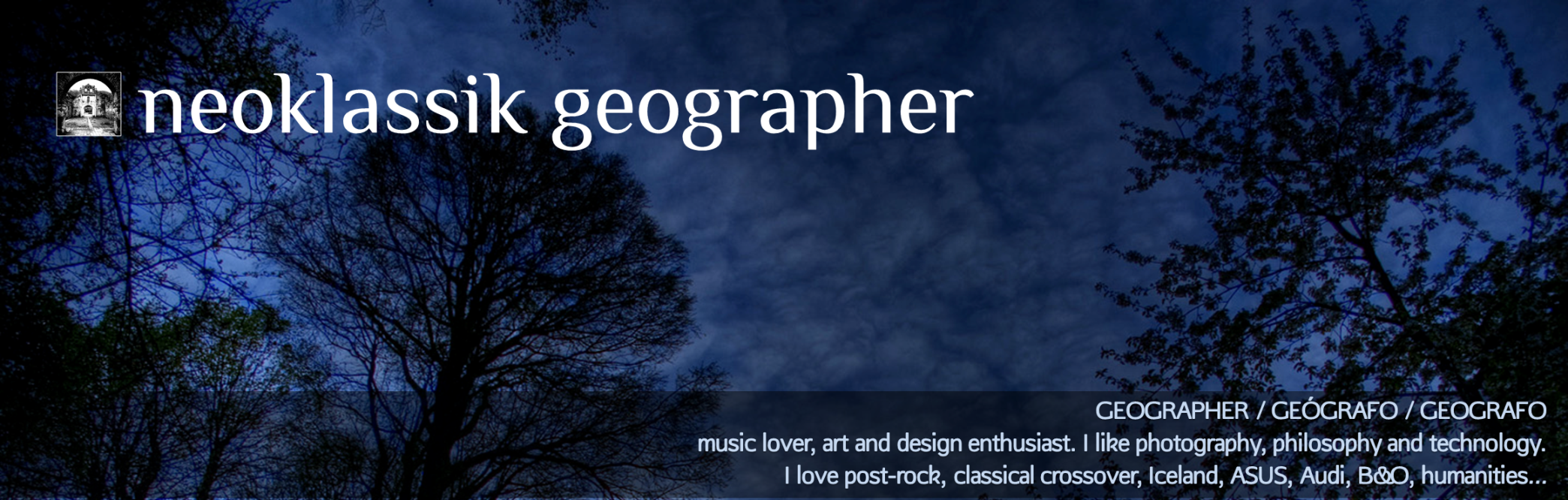 neoklassik geographer