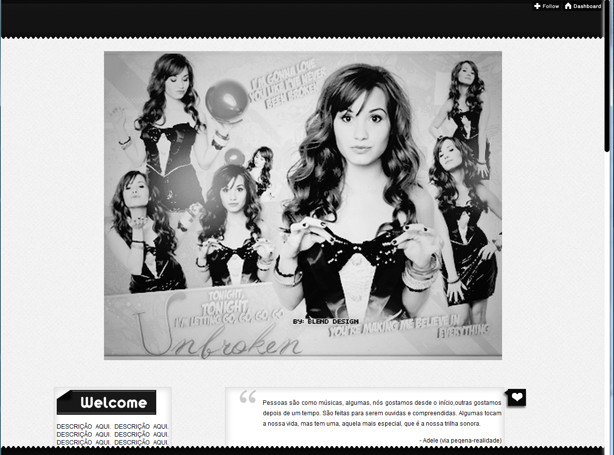 theme da demi lovato | Tumblr