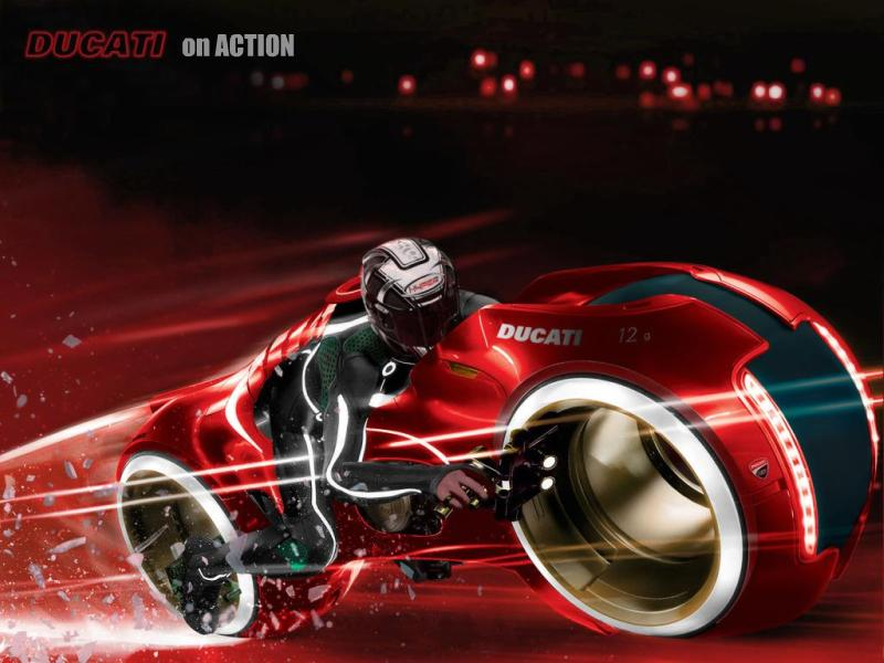 Ducati on Action