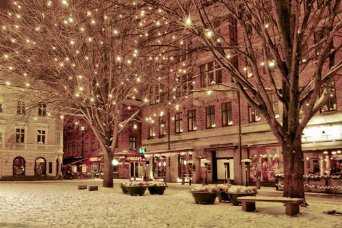 ზამთარი ნიუ-იორკში