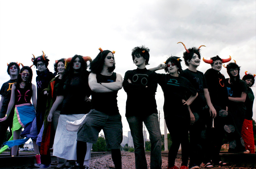 homestuck cosplay this is a blog celebrating the great cosplays that    Homestuck Cosplay
