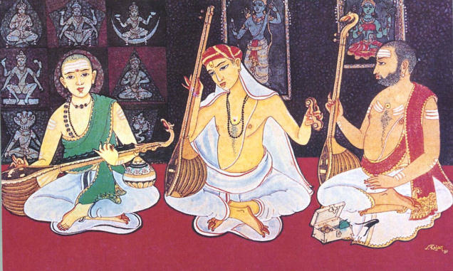 Fundamentals of Carnatic music (Vocal)