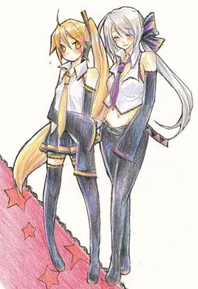 Vocaloid Neru And Haku ASK NERU & HAKU