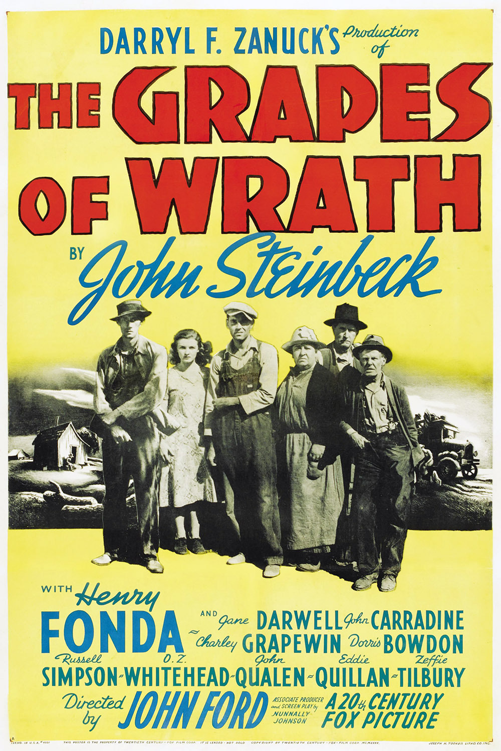 A world of hope in steinbecks the grapes of wrath