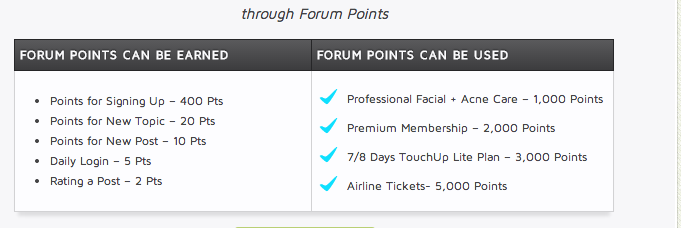 The chart on the Premium membership page.