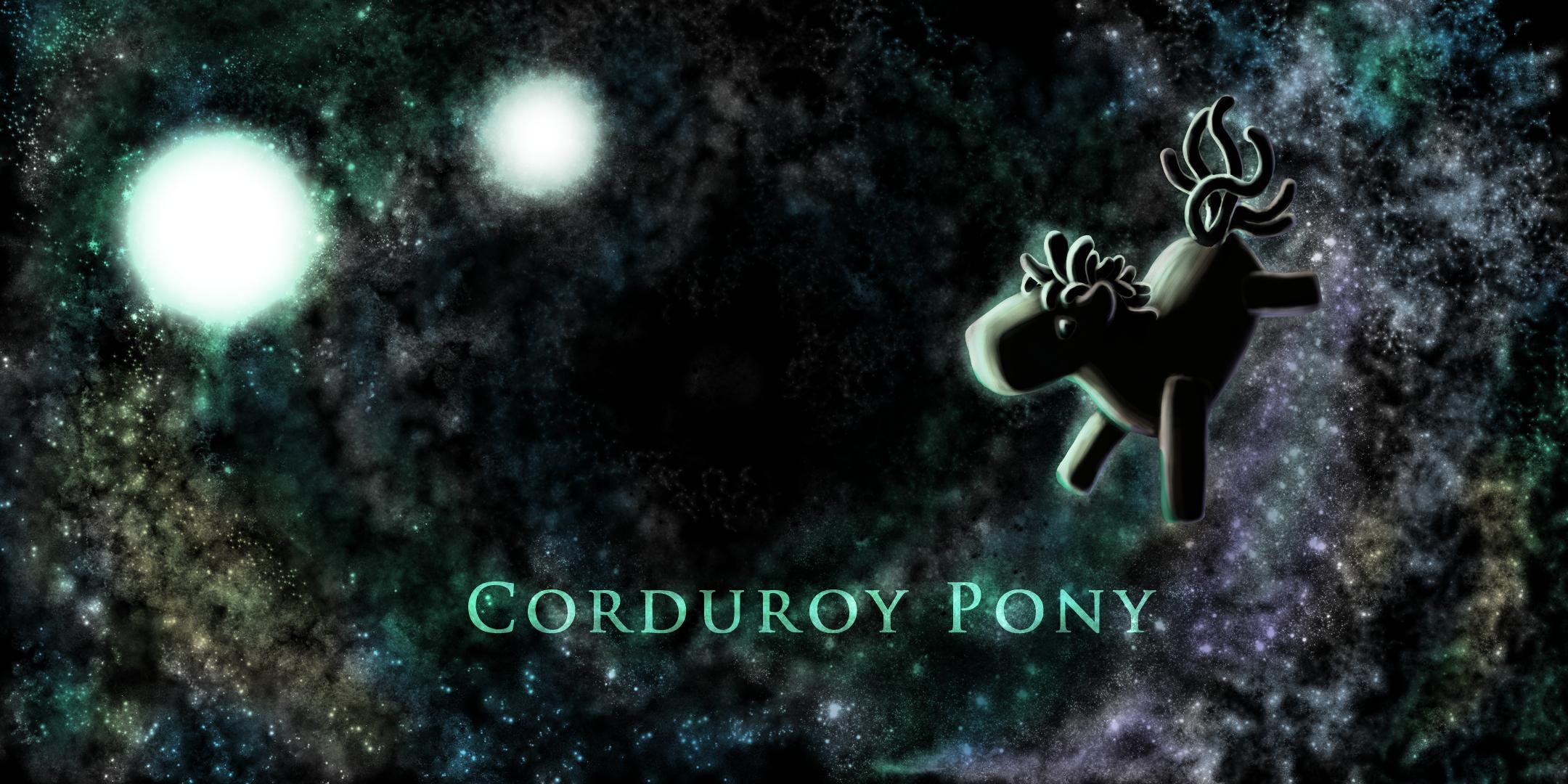Corduroy Pony