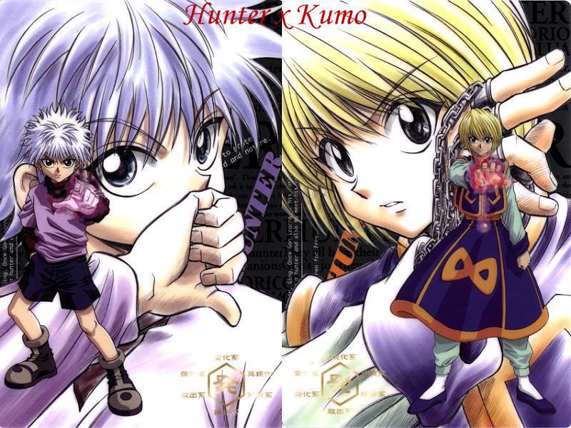 Hunter x Hunter Killua Kurapika Hunter x Hunter Killua Zoldyck
