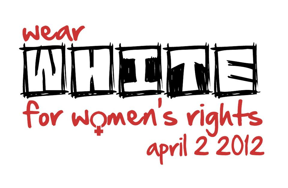 Wear White for Women's Rights