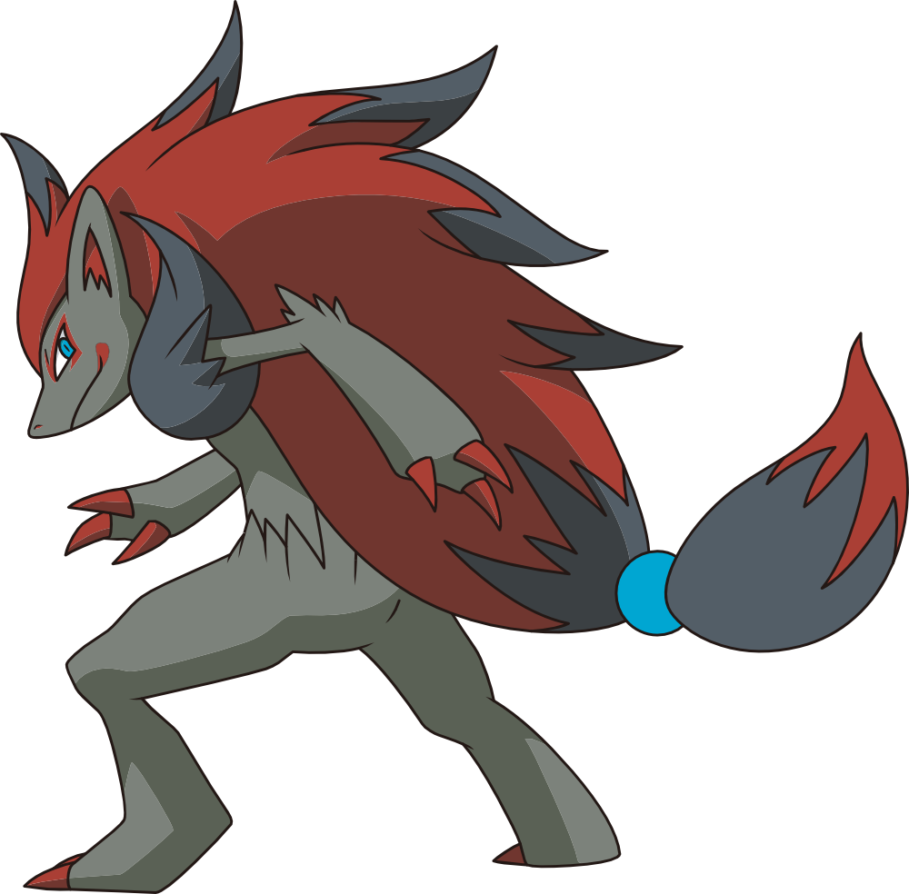 Though Zoroark may be a lot Zorua Human